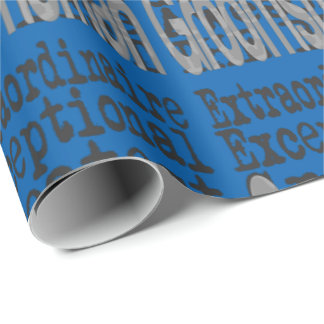 Groomsman Extraordinaire Wrapping Paper