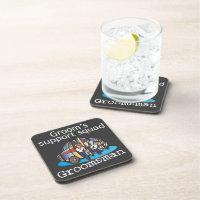 Groomsman Groom's Squad Coaster