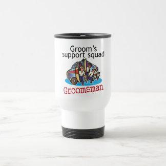 Groomsman Groom's Squad Mugs