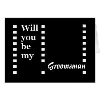 Groomsman Invitation - Funny - Customizable