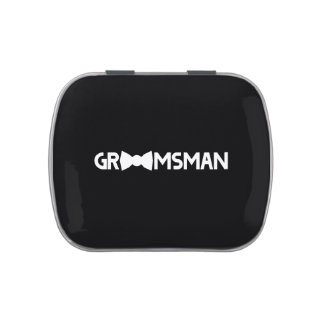 Groomsman Jelly Belly Tins