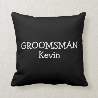 Groomsman Pillow