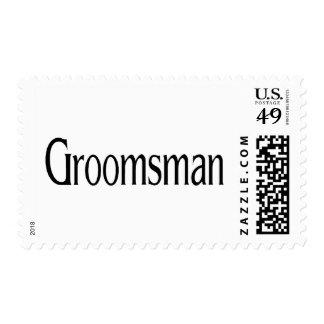 Groomsman Postage