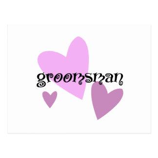 Groomsman Postcard