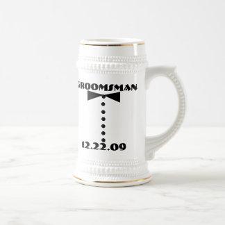 Groomsman Stein -