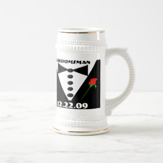 Groomsman Stein - Coffee Mugs