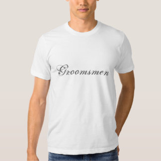 Groomsman T Shirt