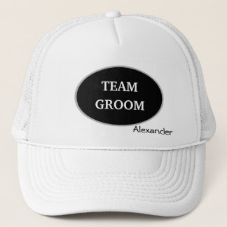 Groomsman Team Groom Personalized Trucker Hat