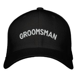 Groomsman text cap