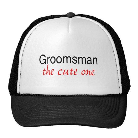 Groomsman (The Cute One) Trucker Hat