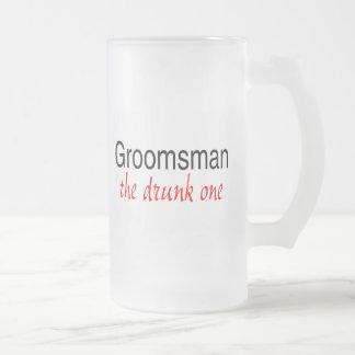 Groomsman (The Drunk One) Coffee Mugs