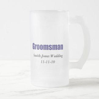 Groomsman Wedding Party Mug