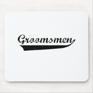 Groomsmen Faded design Mouse Pad