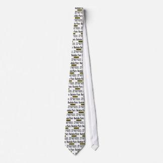 Groomsmen On The Loose Neck Tie