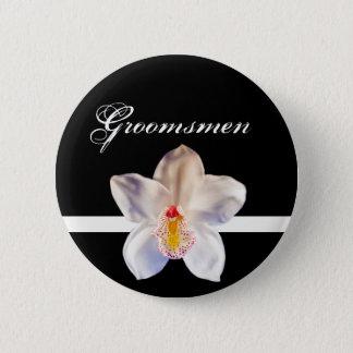 Groomsmen Wedding ID Badge Button