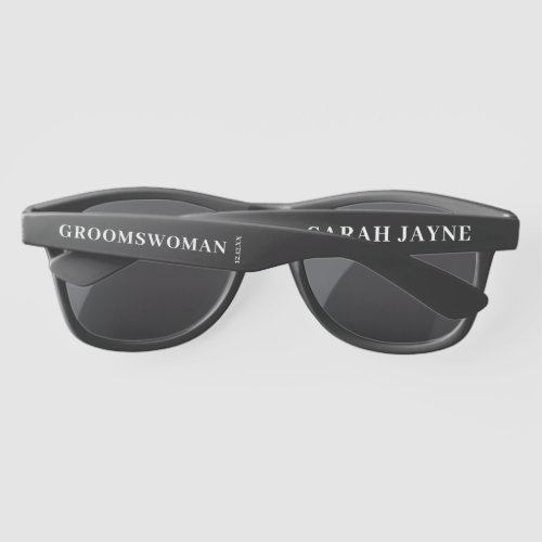 Groomswoman Wedding Favor Sunglasses