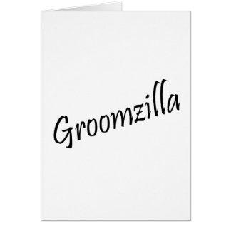 Groomzilla (Blk) Card