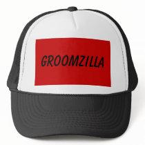 GROOMZILLA TRUCKER HAT