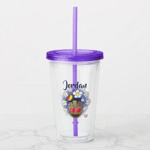 Flower Emoji Drinkware   Zazzle