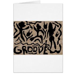 Groove Art Card