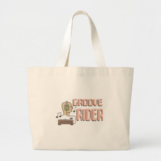 Groove Rider Large Tote Bag