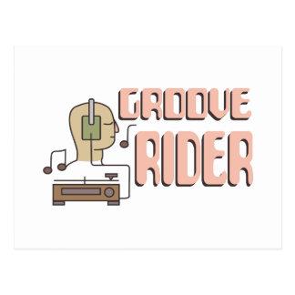 Groove Rider Postcard