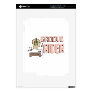 Groove Rider Skin For The iPad 2