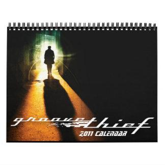 Groove Thief 2011 Calendar