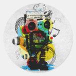Groovetron sticker
