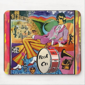 Groovin' to the Beat Mousepad