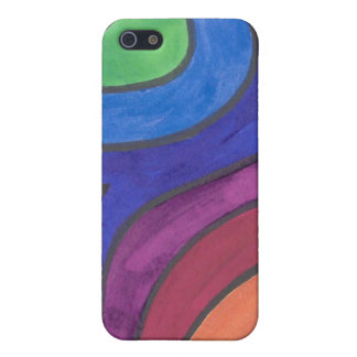 Groovin' Under the Rainbow iPhone 5/5s Case