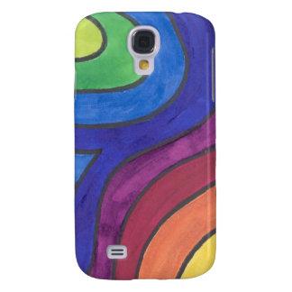 Groovin' Under the Rainbow Samsung Galaxy S4 Case