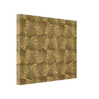 Groovy 1 Wrapped Canvas