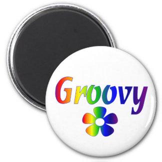 groovy 2 inch round magnet
