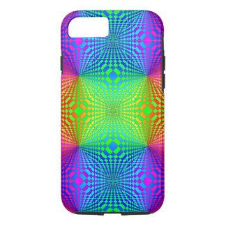 Groovy 3-D Retro Pattern iPhone 8/7 Case