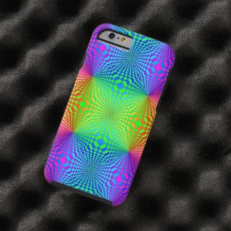 Groovy 3-D Retro Pattern Tough iPhone 6 Case
