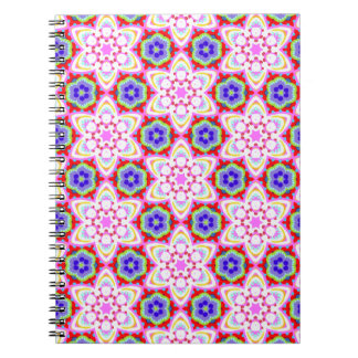 Groovy Abstract Art Notebook - Detailed Pattern!