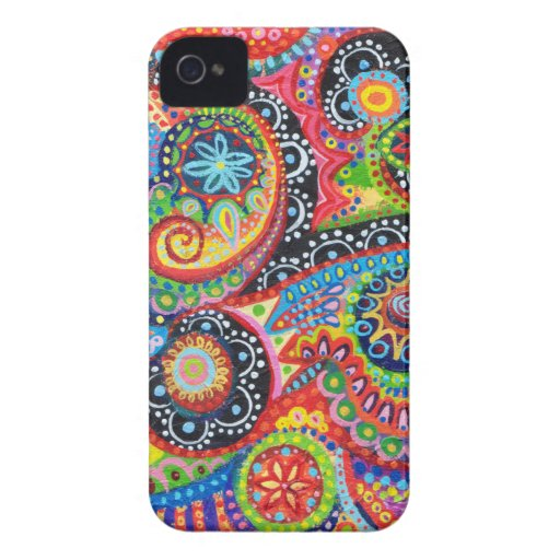 Groovy Abstract iPhone 4/4S Barely There Case-Mate Case-Mate iPhone 4 Case