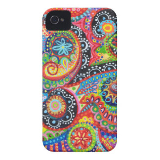 Groovy Abstract iPhone 4/4S Barely There Case-Mate iPhone 4 Case-Mate Case