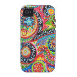 Groovy Abstract iPhone 4/4S Vibe Case-Mate Case Case-Mate iPhone 4 Case