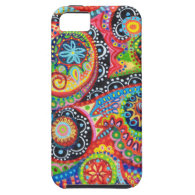 Arty Colorful and Groovy Abstract Tribal iPhone 5 Case by Case-Mate iPhone 5 Covers