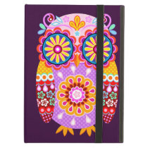 Groovy Abstract Owl iPad Case