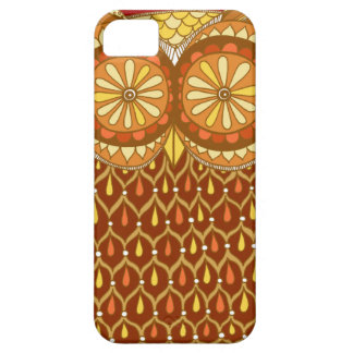 Groovy Abstract Owl iPhone 5 Case