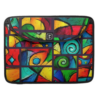Groovy Art Abstract Collection MacBook Pro Sleeve
