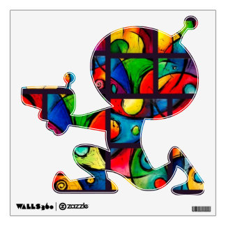 Groovy Art Abstract Collection Wall Decal