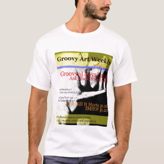 Groovy Art Weekly Vol. 1 No. 1 T-Shirt