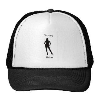 Groovy babe trucker hat