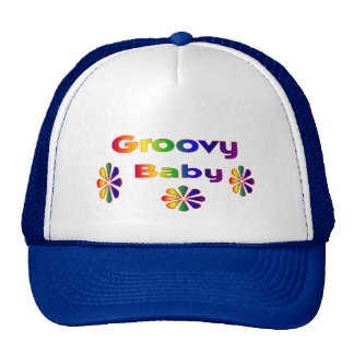 groovy baby trucker hat