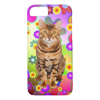 Groovy Bengal Kitten iPhone 8/7 Case