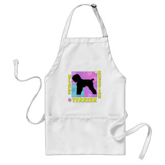 Groovy Black Russian Terrier Adult Apron
